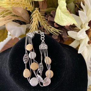 Brighton Jewelry - Brighton Triple Strand Bracelet